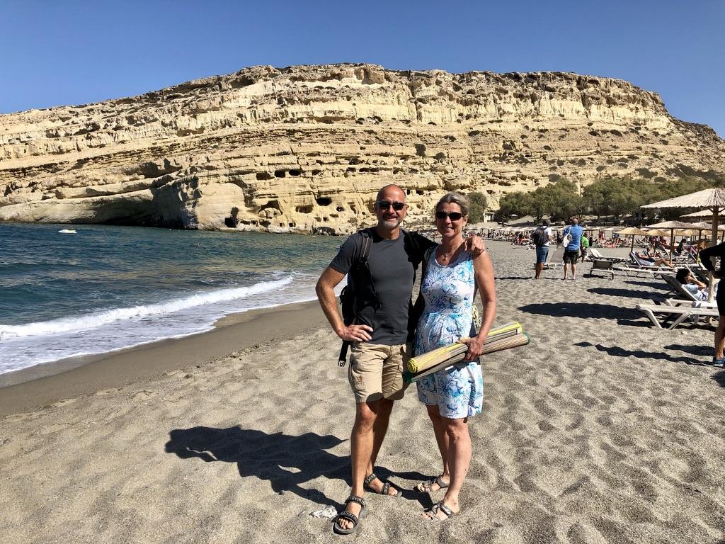 Hanns & Andrea unterwegs auf Kreta 2021