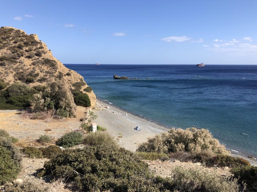 Strand bei Kalí Liménes